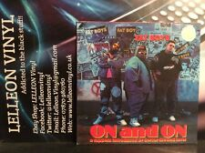Fat Boys On And On LP Album Vinyl Record 838867-1 Rap Hip Hop 80's