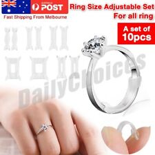 2x Ring Size Adjuster Snuggies Insert Guard Tightener Reducer Resizing Fitter Jr