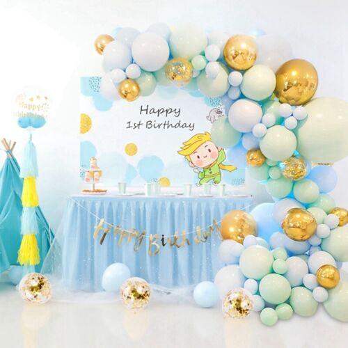 126x Macaron Confetti Balloon Arch Garland Kit Wedding Baby Birthday Party Decor