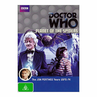 Doctor Who: Planet of the Spiders DVD Brand New Region 4 Aust. - Jon Pertwee