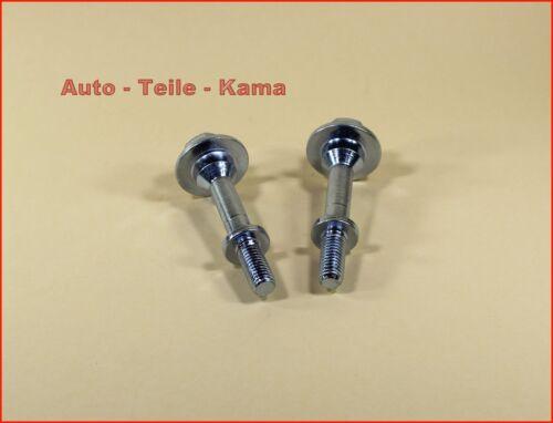 Abgasanlage //Auspuffanlage 2 x Montage Schrauben 2 x Feder für Honda Civic