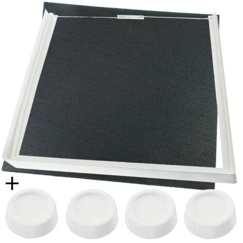 Empilage Kit Vibration Tapis /& Pieds Pour HOTPOINT Machine à laver Sèche-linge