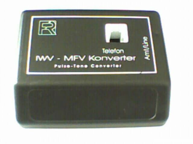 Reiner 120060 IWV/MFV Convertisseur, RJ11 Femelle sans Alimentation Neuf