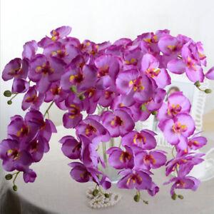 Горячая распродажа бабочка орхидея шелк цветочный найти очень фаленопсис свадьба домашний декор
