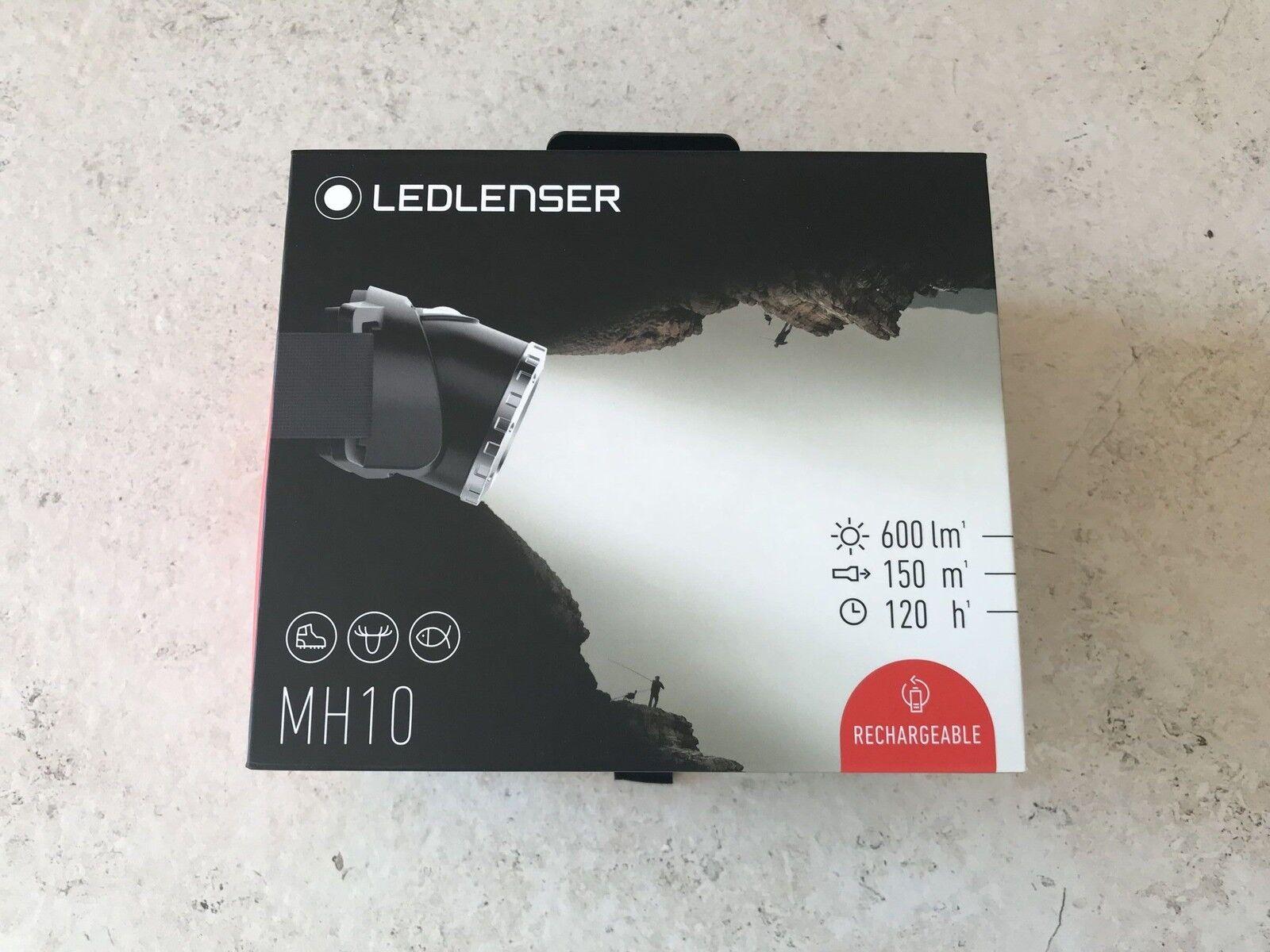 Ledlender Headlamp   600 Lumen MH10 the New Outdoor Range  500856