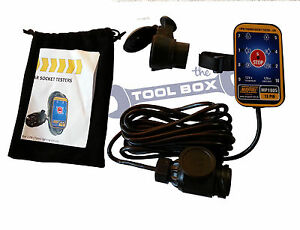 Sensational Towbar Socket Tester For Testing 13 Pin 7 Pin Towing Electric Wiring Cloud Hisonuggs Outletorg