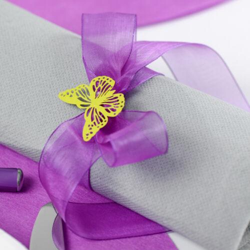 Organzaband 25mmx20m vert olive Fixation mariage chiffonband geschenkband