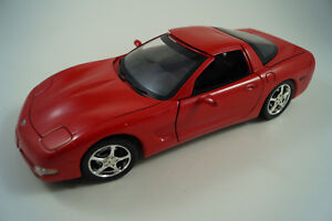 Ertl-Modellauto-1-18-Chevrolet-Corvette-2003