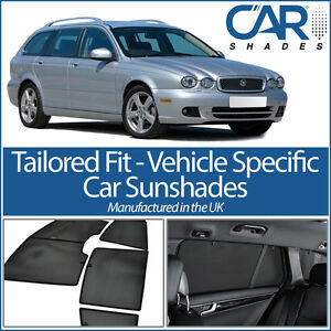 Jaguar X Type Estate 04 09 Car Window Sun Shade Baby Seat
