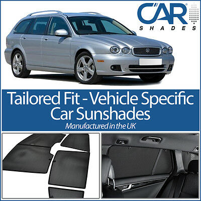 Jaguar X Type Estate 04-09 CAR WINDOW SUN SHADE BABY SEAT CHILD BOOSTER BLIND UV