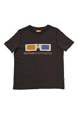 Genuine Mooks Children Boys Raglan Balls T Shirt size 3 5 6 Colour White Blue