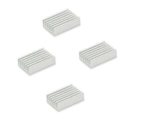 20Pcs Dissipateur de chaleur 20x14x6mm Haute Qualité Mini en aluminium dissipateur de chaleur couleur Slivery
