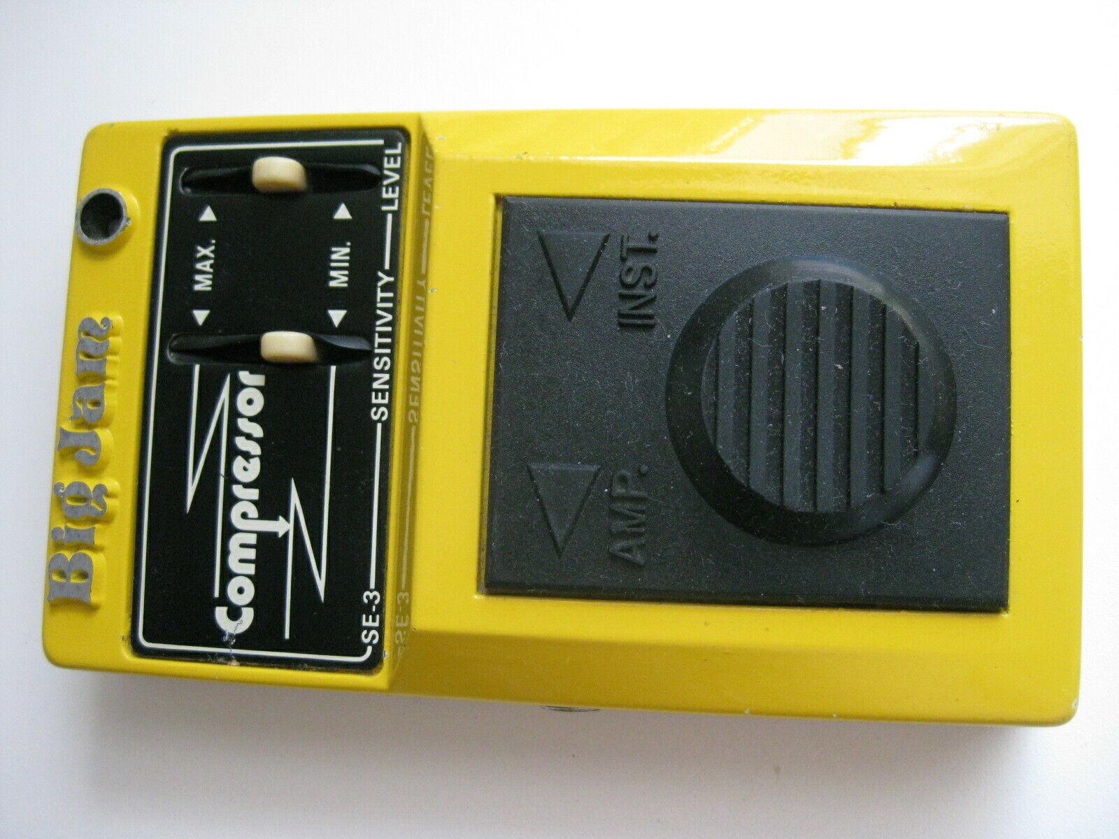 Vintage Big Jam SE-3 Compressor Guitar Effect Pedal by Multivox