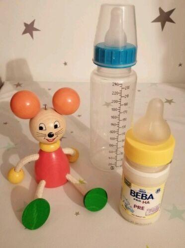 Baby 10 Nuk Kliniksauger Trinksauger Babyflasche Cherry extrafein latexfrei ovp