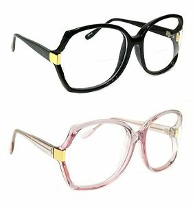 Large Frame Retro Reading Glasses : WOMEN RETRO READING GLASSES BIFOCAL OVERSIZED DIXIE STYLE ...