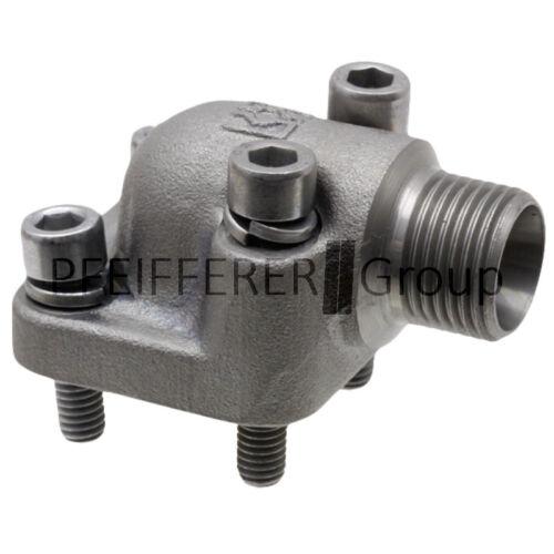 Hydr. Pumpenflansch WP-Flansch- LK40-28L V-Nr. WP-LK40-L28