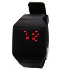 New Fashion Men Women Digital Watch LED Touch Screen Sport Wrist Watch Black US