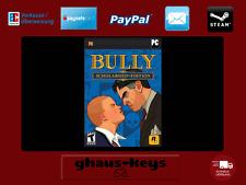 BULLY Scholarship EDITION STEAM KEY PC Game download codice NUOVO spedizione LAMPO