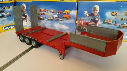 Bruder Low loader trailer Costume Tamiya//Wedico 1//14 1//16 RC Truck conversion.
