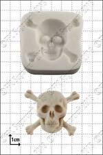 Silicone mould Skull & Crossbones | Food Use FPC Sugarcraft FREE UK shipping!