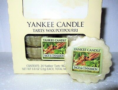 Green Grass NEW Yankee Candle Full Box Lot of 24 Tarts Wax Melts