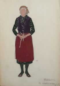 OLD-FEMALE-OPERA-THEATRE-COSTUMES-DESIGN-VINTAGE-GOUACHE-PAINTING-SIGNED
