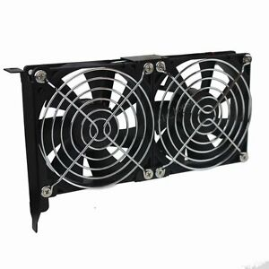 90mm-Dual-Fan-ultra-Slient-Graphics-Card-Cooler-Cooling-for-PC-Computer-Case-PCI