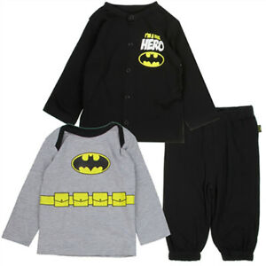 e20b8f9fc Kids with Character Batman Baby 3 Piece Outfit