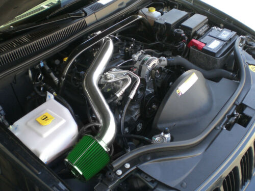 Black Green long Air Intake kit for 2005-10 Jeep Grand Cherokee Commander 3.7 V6