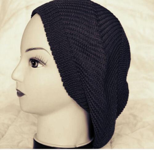 Men Women Beret Braided Crochet Knit Beanie Skull Cap Hat Girl Jamaican Rasta