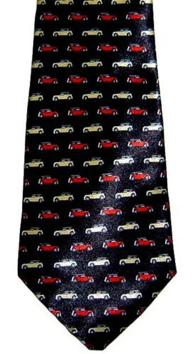 MINI COOPER NECKTIE NEW TIE CAR S D LEYLAND MORRIS CARS