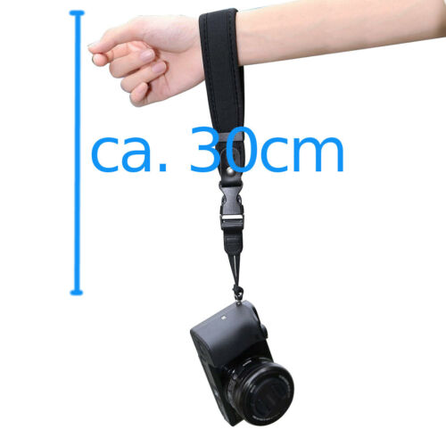Universal Neopren Handschlaufe hand strap für Systemkamera Kompakt Kamera DSLR
