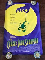 Curse Of The Jade Scorpion Ds Movie Poster One Sheet Authentic