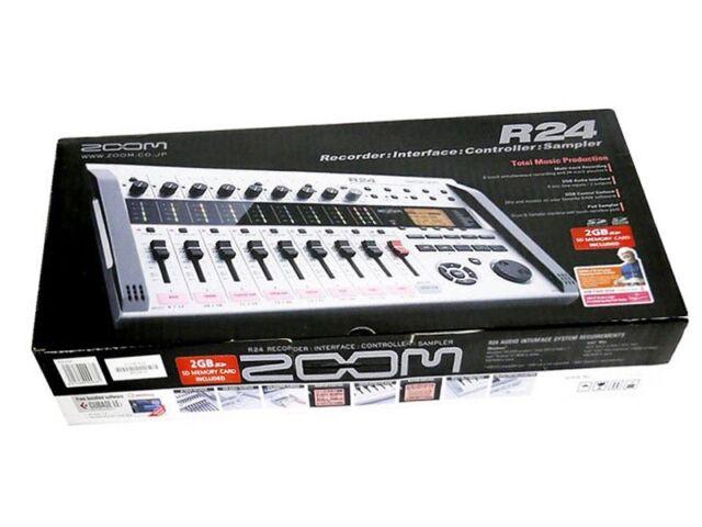 Zoom R24 Multitraccia Registratore con Tracking Importazione Nuovo da Giappone