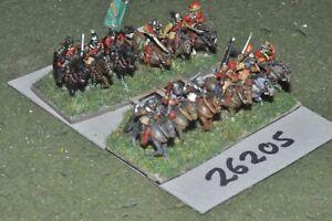 15mm Ecw / Anglais - 2 Regts.   12 figures Cav (26205)