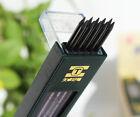 4 boxes (40PCs Leads) 2mm 2B HB Black 2.0mm Mechanical Pencil Lead Refill 120mm