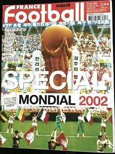 FRANCE FOOTBALL 21/05/2002; Spécial Mondial 2002