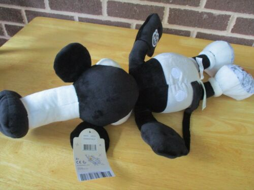 """Steamboat Willie Mickey Mouse 90 yr.Anniversary 2018 Plush /& Shirt 18/"""" Tall Tags"""