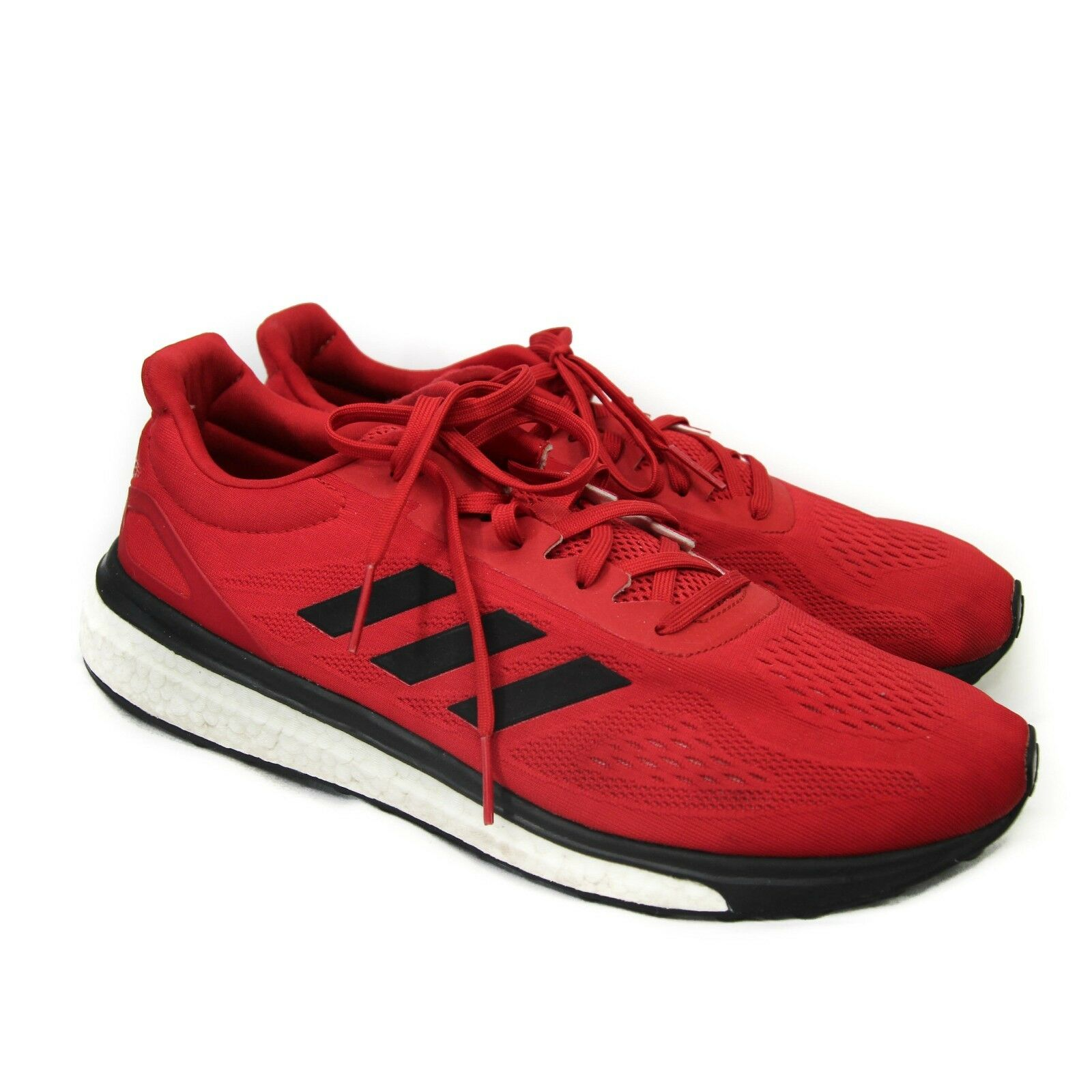 Adidas Pure Boots Athletic Sneakers Running shoes Red Mens 12