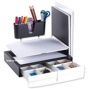 Desk Tidy white desk tidy work station organiser office stationery storage
