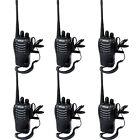 6 x Walkie Talkie Retevis H777 UHF400-470MHz 16CH CTCSS/DCS  5W  2-Way Radio US