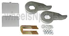 "Lift Kit Front Torsion Keys Rear 2"" Blocks 88 - 98 GM 1/2 ton 6 Lug Truck & SUV"