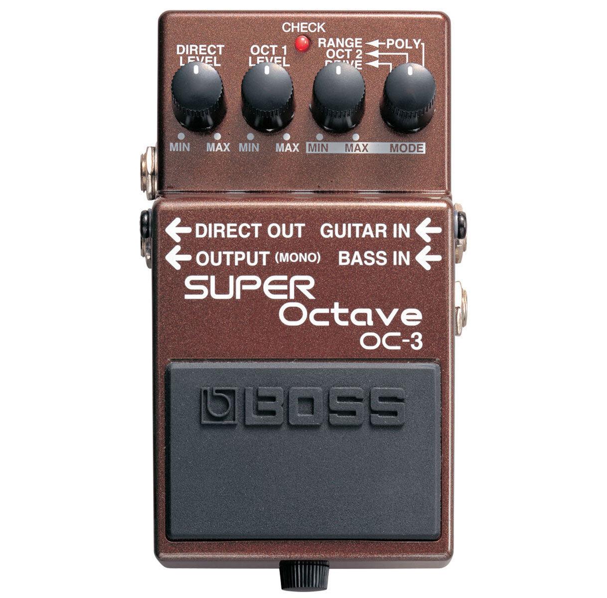 Unidad de efectos de octava octava octava Boss OC-3 Super  increíbles descuentos