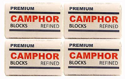 4X4 Camphor blocks High Quality Refine Alcamphor Sanvall - No Residue - Bed Bug