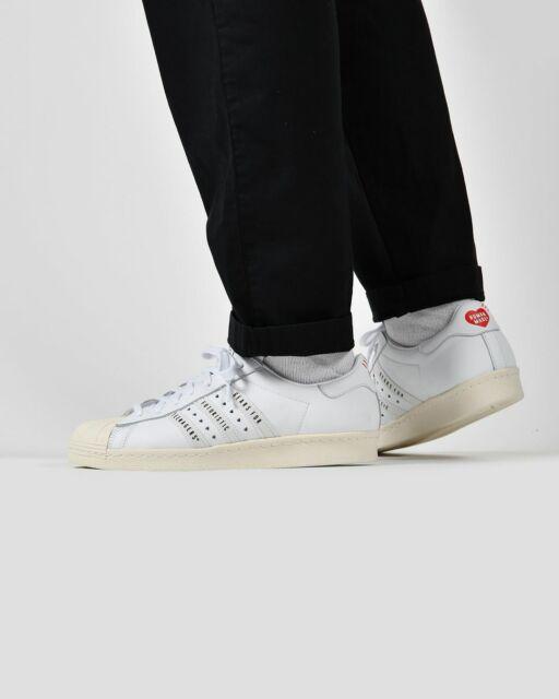 scarpe adidas superstar bianco rosso