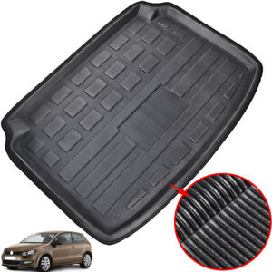 For-VW-Polo-6R-Hatchback-10-17-Cargo-Boot-Liner-Floor-Tray-Trunk-Mat-Carpet