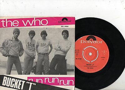 THE WHO 7'' PS Bucket T NORWAY ULTRA RARE Polydor NH 59064 AMAZING MOD COVER 45