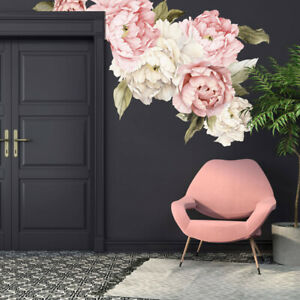 Giant-Peony-Flower-Wall-Decal-Kids-Nursery-Sticker-Home-Decor-Art-Decal-Gift-DIY