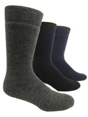 """2 Pairs J.B Field/'s /""""Wool Weekender/"""" 96/% MERINO WOOL Socks - Made in CANADA"""