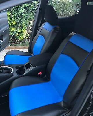 FORD FOCUS MK3 2011 ONWARDS ECO LEATHER FRONT UNIVERSAL SEAT COVERS